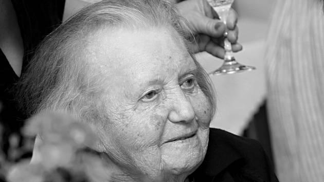 Ve věku 104 let zemřela Vlasta Šumová, nejstarší obyvatelka Litoměřic