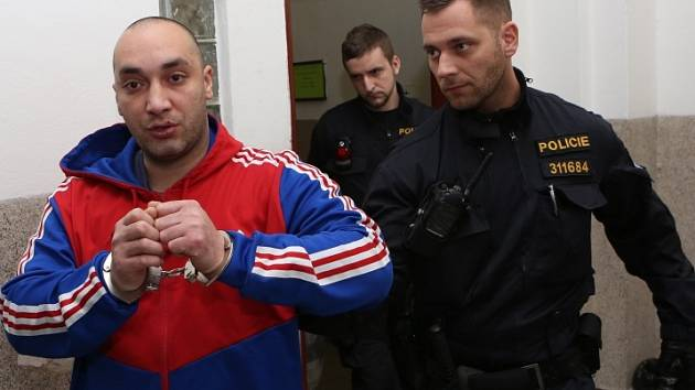 Miroslav Daňo u litoměřického soudu.