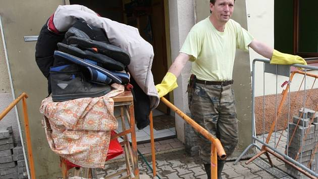 Úklid v Lovosicích - Terezínská ulice, sobota