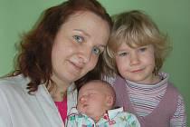 Darině a Ladislavovi Rychtářovým z Malých Žernosek se v litoměřické porodnici 28. února v 0.18 hodin narodila dcera Sofie Rychtářová (49 cm, 3,13 kg). Na snímku i se sestrou Anitou. Blahopřejeme!