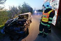 Dvě lehčí zranění si vyžádala čtvrteční nehoda u obce Travčice.