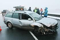Tragická dopravní nehoda u Prosmyk - úterý 18.12.2012 ráno.