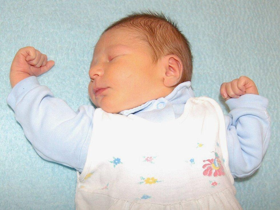 Marcele Prokšové a Karlu Fialovi z Encovan se 17.1. ve 2.30 hodin  narodil v Litoměřicích syn Karel Fiala (3,57 kg a 52 cm).