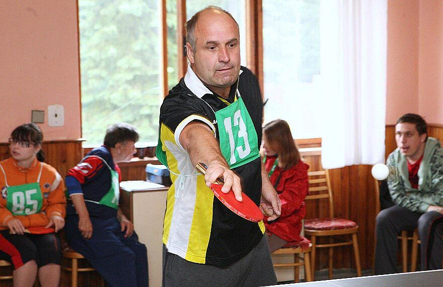 Sportovní hry mentálně postižených v Oparně.