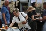 V Litoměřické tržnici proběhl  v sobotu Litofest, ochutnávky piva současně s farmářskými trhy.