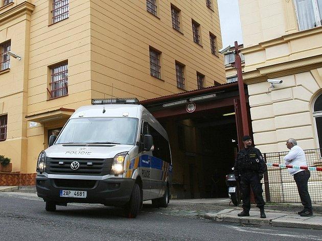Vazební věznice v Litoměřicích, ilustrační foto.