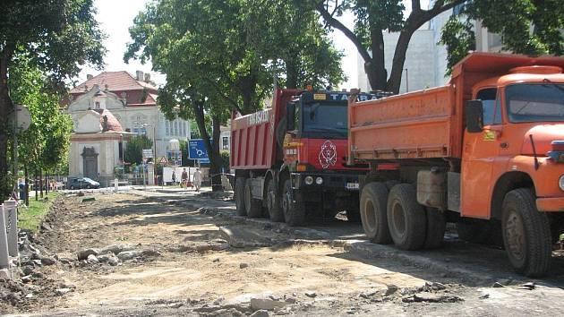 Rekonstrukce Aleje 17. listopadu v Roudnici nad Labem