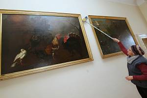 Státní zámek v Libochovicích před sezónou nespí.