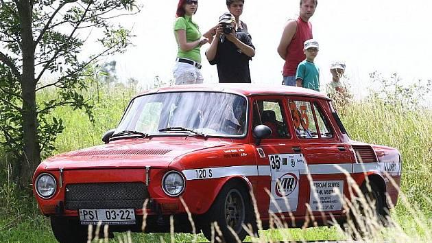Závod Rally České středohoří