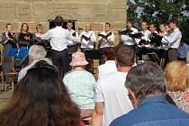 Sobotní koncert na Ostrém