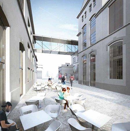 PIVOVAR. Architektonická kancelář vidí využití litoměřického pivovaru jako výrobnu piva, hotel, společenské sály, wellness, muzeum piva, restauraci. Stavba má stát 240milionů KČ.