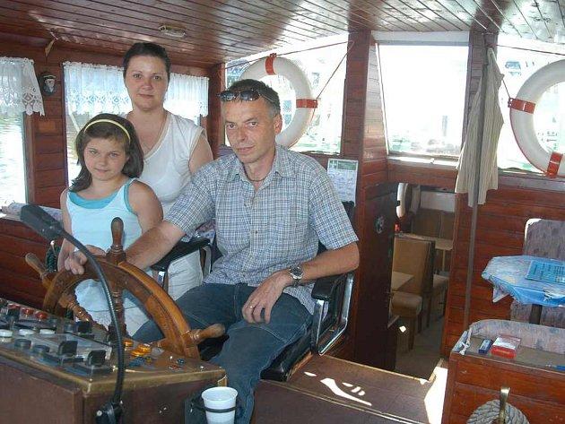 Ivo Kalvas se svou rodinou opět zakotví v Litoměřicích