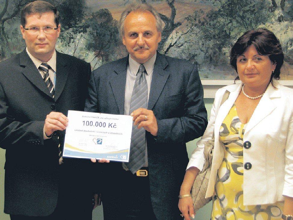 Na snímku zleva ředitel MN Leoš Vysoudil, starosta Litoměřic Ladislav Chlupáč a hejtmanka Ústeckého kraje Jana Vaňhová.