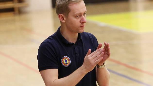 Trenér basketbalistů Litoměřic Jan Šotnar