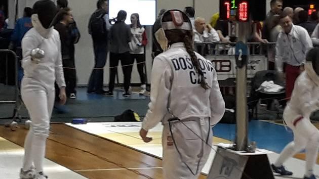 Kateřina Došková se představila v kategorii kadetek i juniorek.