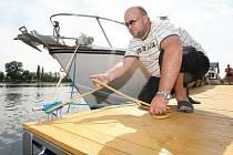 KOTVIŠTĚ. Na dolním Labi zatím v šesti obcích a městech na Litoměřicku Ředitelství vodních cest postaví nové přístavy pro menší výletní a sportovní lodě.