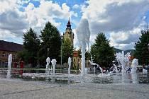 Lovosická fontána Aqua Albis