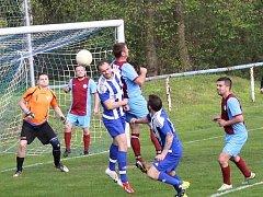 Okresní fotbalové soutěže pokračovaly dalším kolem.