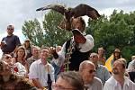 Vystoupení Milana Straky s dravými ptáky