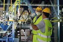 Otevření výzkumného centra CirkTech Vysoké školy chemicko-technologické v areálu cementárny v Čížkovicích.