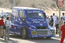 Tahač, se kterým David Vršecký z Buggyry překonal v roce 2004 světový rekord.
