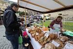 V Litoměřické městské  tržnici proběhly další farmářské trhy včetně zabijačkových hodů hodů.