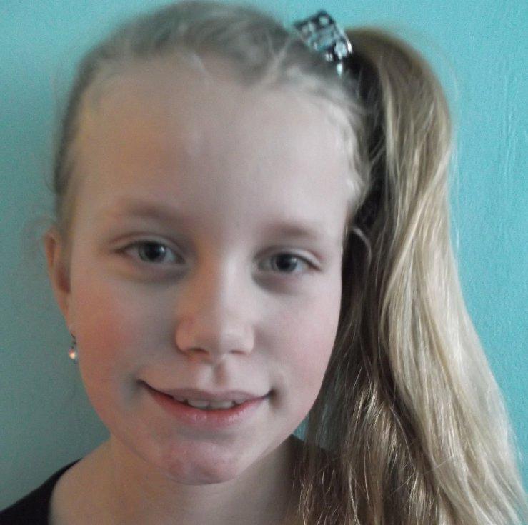 6. Veronika Homolová - 9 let, Libochovice.