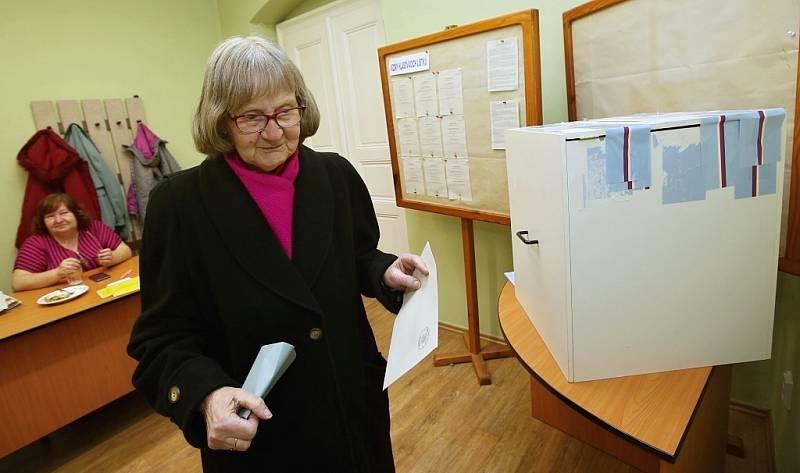 Prezidentské volby v Siřejovicích na Lovosicku. Sobota 13. ledna