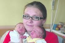 Josefovi a Veronice Jantekovým z Úpohlav se 21. dubna v ústecké porodnici ve 21.49 hodin narodil syn Josífek, měřil 43 cm a vážil 1,9 kg a ve 21.50 hodin syn Matýsek, měřil 47 cm a vážil 2,14 kg.