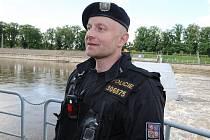 Zachránce Petr Hančl.