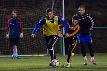 Fotbalisté Brozan se připravují na jarní část divize