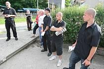 Občanské hlídky DSSS v Ředhošti.
