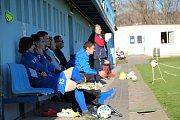 Lovosice (v modrém) - Žatec (v zeleném), KP