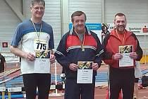 VE VRHU koulí byl nejlepší Štefan Pšenák (uprostřed), i když nebyl se svým výkonem úplně spokojený.