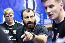Lovosický trenér Milan Berka.