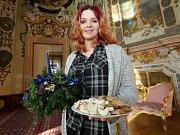 Státní zámek Ploskovice se připravil na prohlídky s vánoční tématikou
