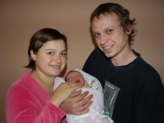 Veronice Valentové a Janu Antonínovi z Terezína se v litoměřické porodnici 22. prosince ve 22.51 hodin narodila dcera Amálka Antonínová. Měřila 52 cm a vážila 3,85 kg. Blahopřejeme!