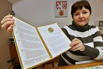 Město Litoměřice vydalo k osmistému výročí spoustu propagačních předmětů