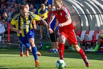 ČFL: Brozany (v červeném) - Litoměřicko.