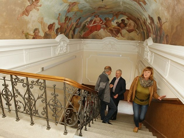 Slavnostní otevření zrekonstruované Pfannschmidtovy vily v Lovosicích.