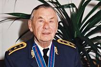 Válečný letec František Chábera