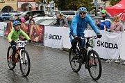 Cyklistické závody MTB České středohoří v Litoměřicích