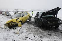 Středeční nehoda u Trnovan