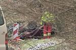 Tragická dopravní nehoda se stala nad Velemínem