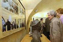 V hradu byla zahájena výstava o Felixi Holzmannovi