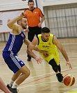 Basketbalové utkání mezi Litoměřicemi a Olomoucí, A1 1. liga 2018/2019