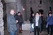 Podzemí bývalého pivovaru v Úštěku. Archivní foto