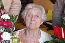 Růžena Rákosová oslavila 100 let života
