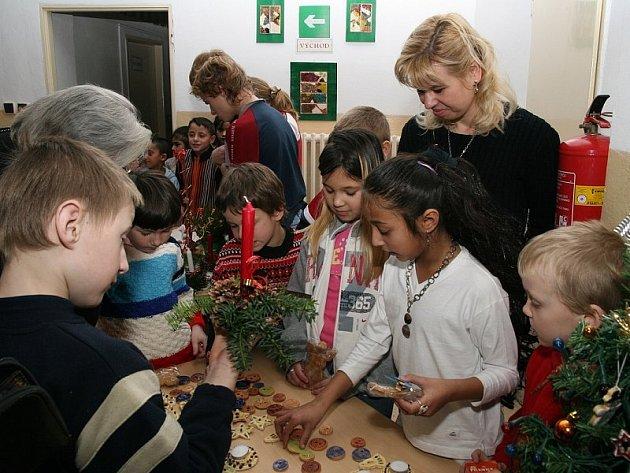 Vánoční besídka na Speciální základní škole a Praktické škole v Lovosicích.