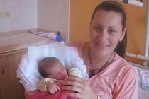 Zuzaně Kohoutkové ze Štětí se 3.5. v roudnické porodnici narodila dcera Eva Kohoutková (50 cm, 3,74 kg).
